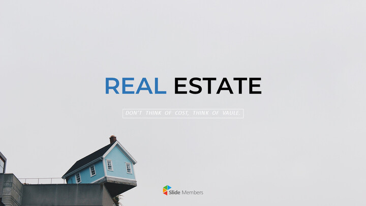 Real Estate PowerPoint Templates for Presentation_01