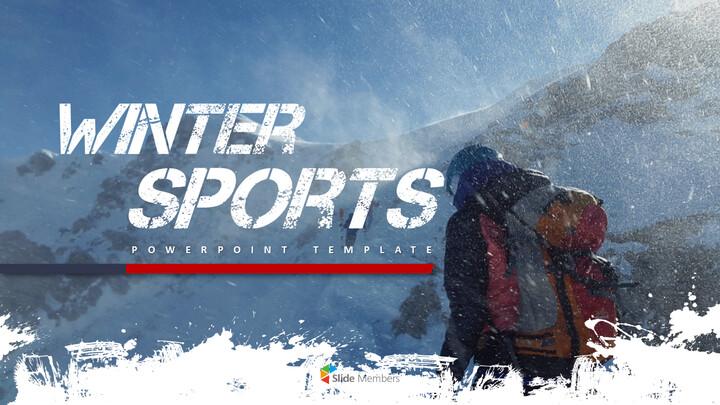 Winter Sports Templates Design_01