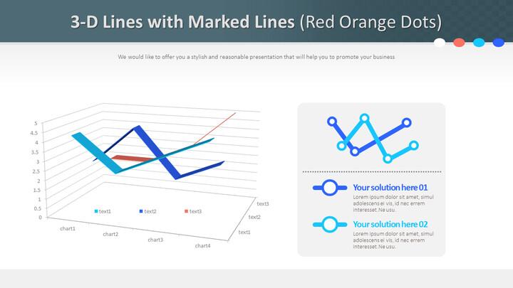 표시된 선이있는 3 차원 선 (빨간색 주황색 점)_02