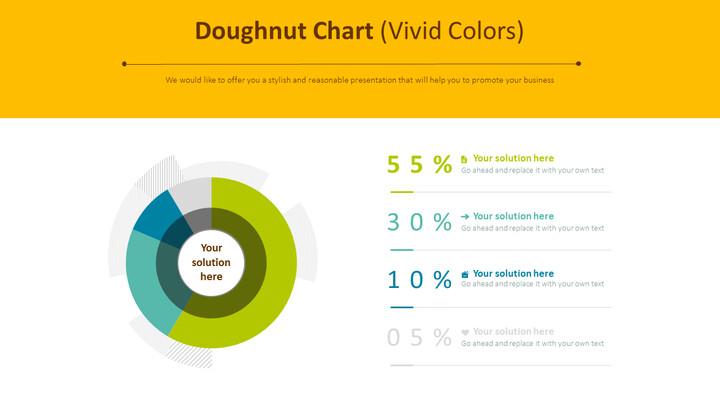 Doughnut Chart (Vivid <span class=\'highlight\'>Colors</span>)_02