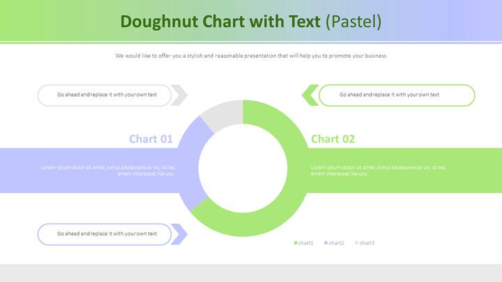 텍스트가있는 도넛 형 차트 (파스텔)_02
