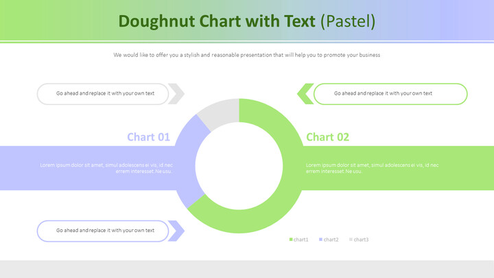 Doughnut Chart with Text (Pastel)_02