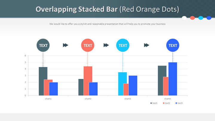 Overlapping Stacked Bar (Red Orange Dots)_02