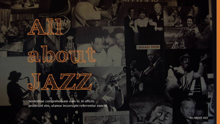 All about JAZZ PowerPoint Presentations Samples_01