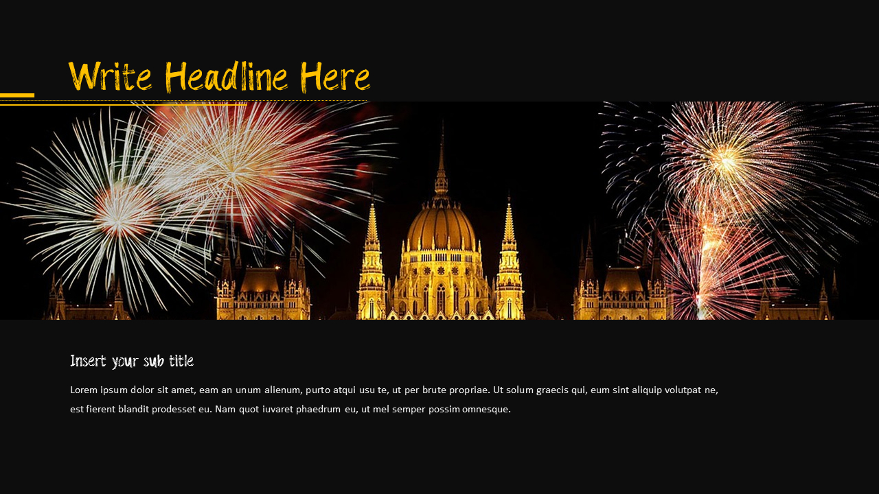 Fireworks Powerpoint Template from imgscf.slidemembers.com