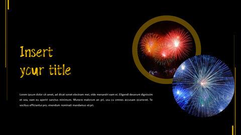 불꽃 축제 테마 PPT 템플릿_09