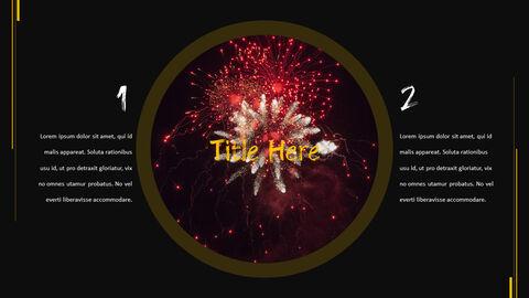 불꽃 축제 테마 PPT 템플릿_27