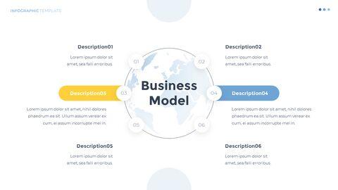 Infographic 평면 디자인 서식 파일 비즈니스 전략 파워포인트_04