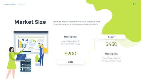 Infographic 평면 디자인 서식 파일 비즈니스 전략 파워포인트_05