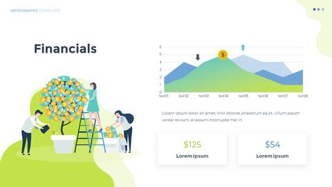 Infographic 평면 디자인 서식 파일 비즈니스 전략 파워포인트_13