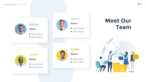 Infographic 평면 디자인 서식 파일 비즈니스 전략 파워포인트_14
