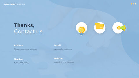 Infographic 평면 디자인 서식 파일 비즈니스 전략 파워포인트_15