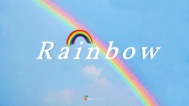 Rainbow PowerPoint Templates Multipurpose Design_01