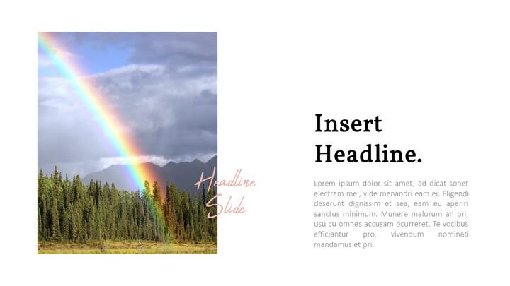 Rainbow PowerPoint Templates Multipurpose Design_02