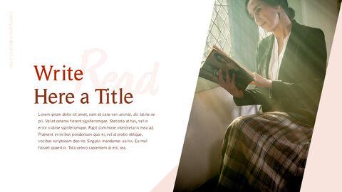 책 읽는 날 파워포인트 디자인_04
