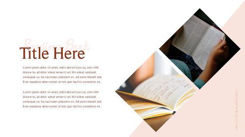 책 읽는 날 파워포인트 디자인_25