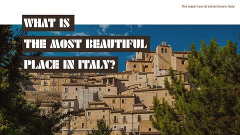 이탈리아의 주요 관광 명소 테마 PPT 템플릿_05