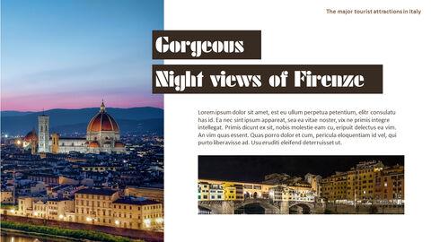 이탈리아의 주요 관광 명소 테마 PPT 템플릿_11