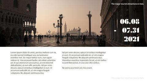 이탈리아의 주요 관광 명소 테마 PPT 템플릿_15