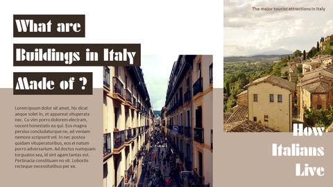 이탈리아의 주요 관광 명소 테마 PPT 템플릿_16