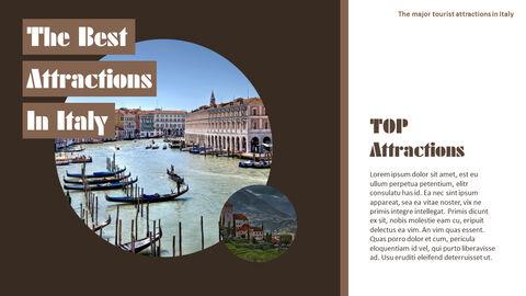 이탈리아의 주요 관광 명소 테마 PPT 템플릿_17