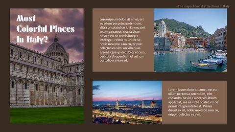 이탈리아의 주요 관광 명소 테마 PPT 템플릿_25