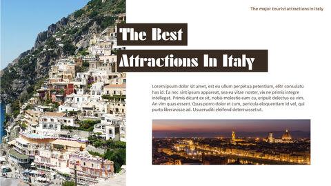 이탈리아의 주요 관광 명소 테마 PPT 템플릿_27