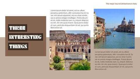 이탈리아의 주요 관광 명소 테마 PPT 템플릿_28