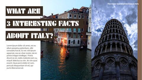 이탈리아의 주요 관광 명소 테마 PPT 템플릿_31