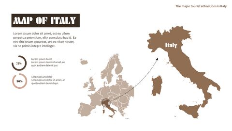 이탈리아의 주요 관광 명소 테마 PPT 템플릿_38