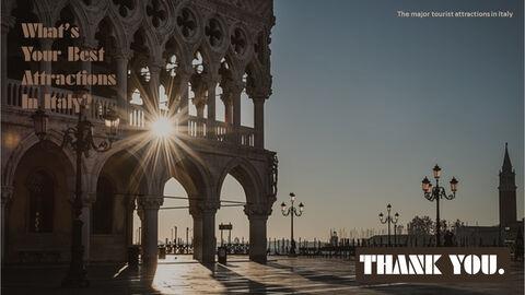 이탈리아의 주요 관광 명소 테마 PPT 템플릿_40