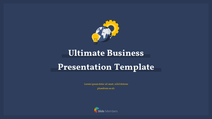 Ultimate Business Simple Template PPT Templates Simple Design_01