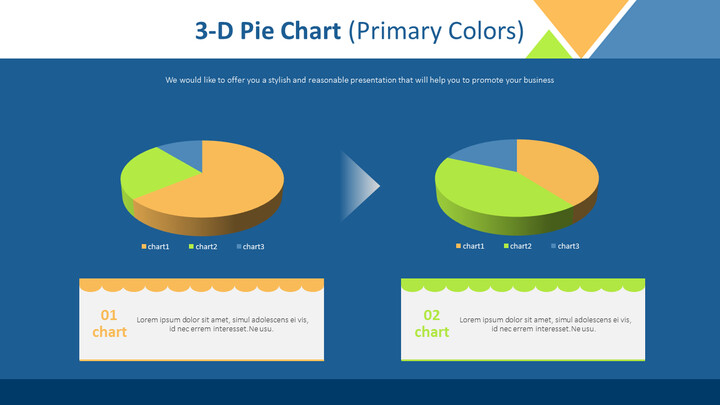 3-D Pie Chart (Primary <span class=\'highlight\'>Colors</span>)_02