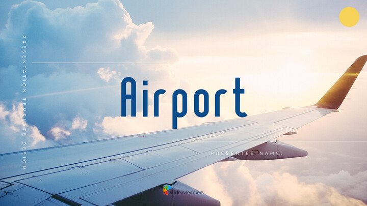 Airport Theme PPT Templates_01