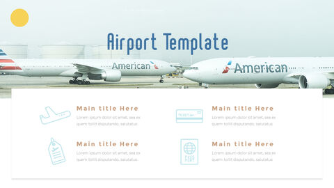 Airport Theme PPT Templates_08