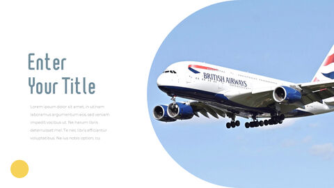 Airport Theme PPT Templates_11