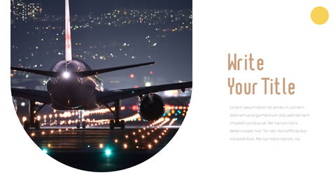 Airport Theme PPT Templates_04