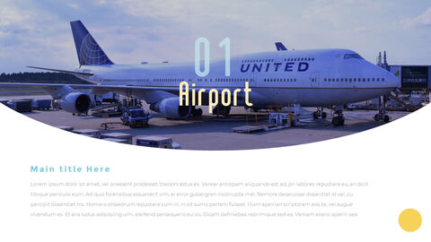 Airport Theme PPT Templates_17