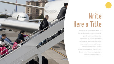 Airport Theme PPT Templates_20