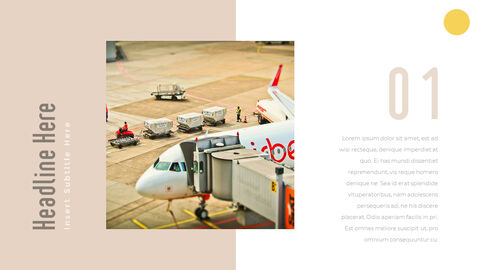 Airport Theme PPT Templates_21