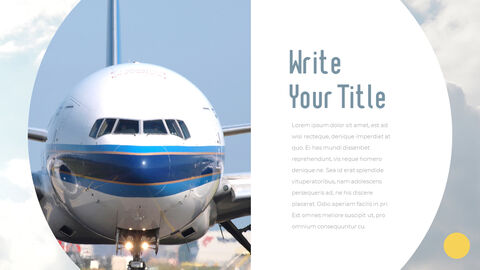 Airport Theme PPT Templates_25