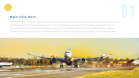 Airport Theme PPT Templates_28