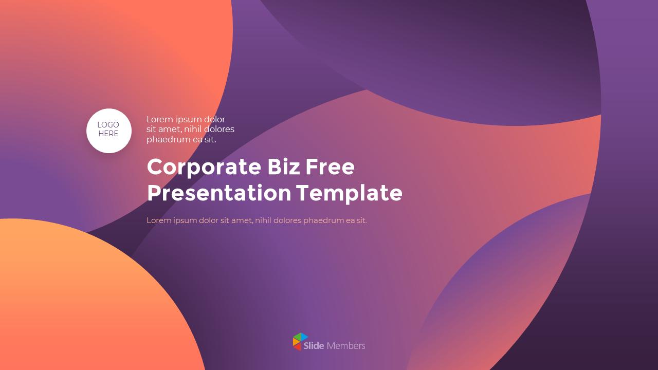 Corporate Biz Template Startup Ppt Templates