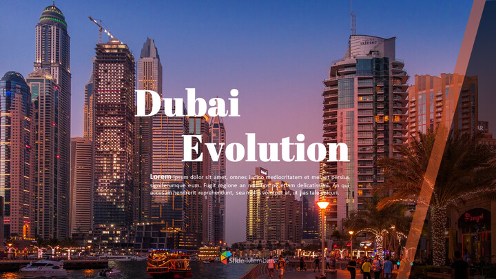 Dubai Evolution PPT Background Images_01