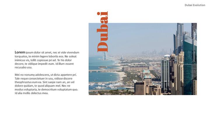Dubai Evolution PPT Background Images_02