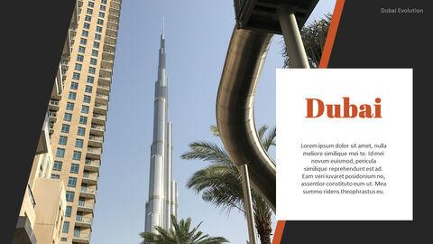 Dubai Evolution PPT Background Images_04
