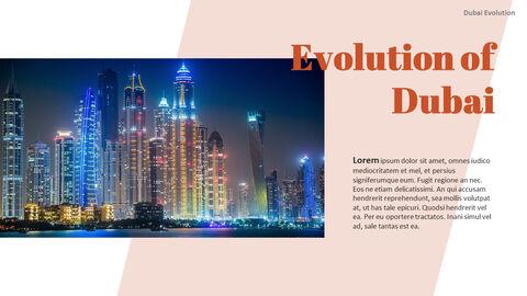 Dubai Evolution PPT Background Images_05