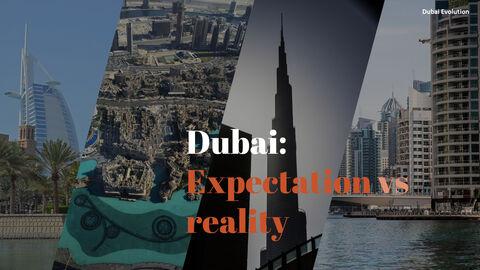 Dubai Evolution PPT Background Images_07