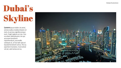 Dubai Evolution PPT Background Images_11