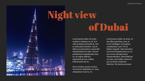 Dubai Evolution PPT Background Images_20